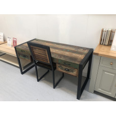 Urban Chic Laptop Desk / Dressing Table with Chair