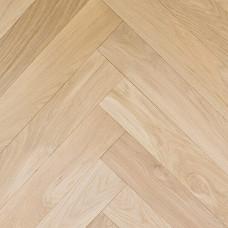 Boston Solid Wood Flooring Parquet/Herringbone Character French Oak Unfinished