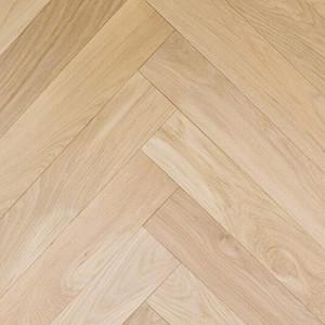 Boston Solid Wood Flooring Parquet/Herringbone Prime French Oak Unfinished