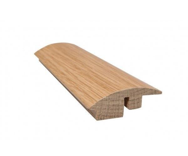 Solid Oak Semi-Ramp Threshold Unfinished
