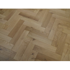 Harbour Engineered Wood Flooring Parquet/Herringbone Character Oak Brushed UV Oiled