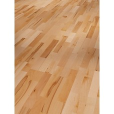 Parador Engineered Wood Flooring Basic 11-5 Rustikal Beech Matt Lacquer 3-Strip Shipsdeck