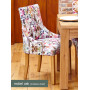 Oak Accent Upholstered Dining Chair - Modena (Pack of Two)