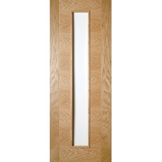 Oak Seville 1 Light Glazed