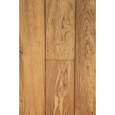 Boston Solid Wood Flooring Rustic French Oak Brushed Burnt Unfinished