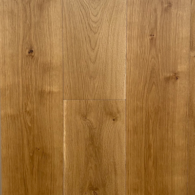Solid French Oak Engineered Wood Flooring Brushed UV Oiled