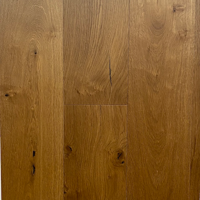 Solid French Oak Engineered Wood Flooring Smoked UV Oiled