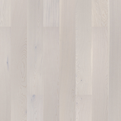 Solid Oak Engineered Wood Flooring Brushed White Lacquered