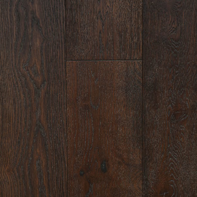 Solid Oak Engineered Wood Flooring Brushed Coffee
