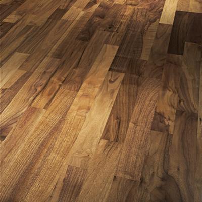 Parador Engineered Wood Flooring Basic 11-5 Rustikal American Walnut Matt Lacquer 3-Strip Shipsdeck