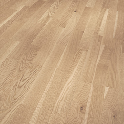 Parador Engineered Wood Flooring Basic 11-5 Rustikal Oak Pure Matt Lacquer 3-Strip Shipsdeck