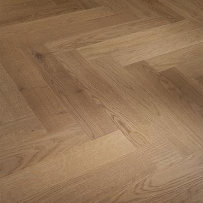 Solid Oak Engineered Wood Flooring Herringbone Nougat (Clearance)